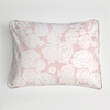 Rose Coral Boudoir Pillow