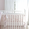 Rose Coral Crib Bumper