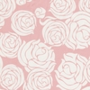 Rose Coral Fabric by the Yard