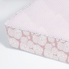 Rose Coral Perfect Fit Crib Sheet