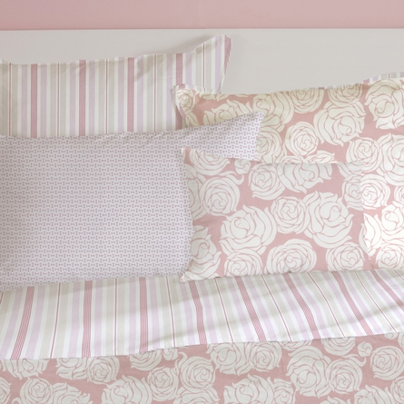 Rose Coral Pillowcase Set