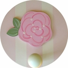 Rose Flower Wall Peg - Set of Two