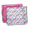 Rose Lattice Burp Cloth Set