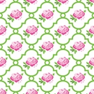 Rose Lattice Caden Lane Fabric by the Yard