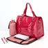 Rose Patent Leather Tote Diaper Bag