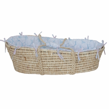 Rose Sea Moses Basket
