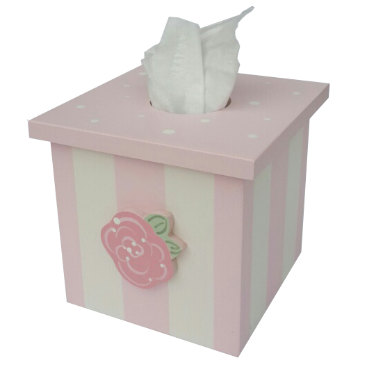 Rose Tissue Box Cover By Wish Upon A Star