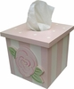 Rose Tissue Box Cover