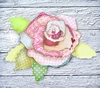 Rosette Canvas Wall Art