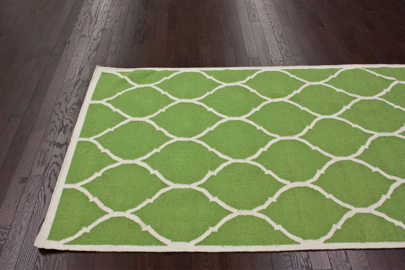 round trellis rug in green rosenberryrooms com
