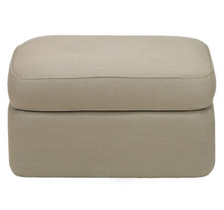 Rounded Ottoman