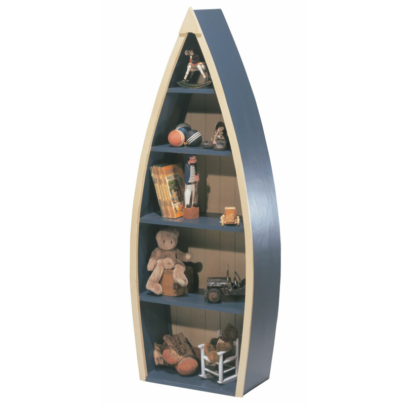 rowboat bookcase by newport cottages rosenberryrooms