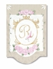Royal Initial Wall Hanging