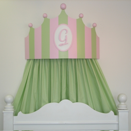 Royalty Painted Bed Crown