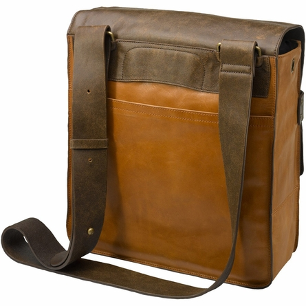 Rubicon Rucksack Diaper Bag in Distressed Brown Leather