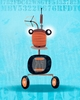 Rumbling Robots Dirk Canvas Wall Art