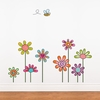 Rural Flowers Wall Decal
