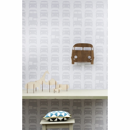 On Sale Rush Hour Kids Wallpaper in Gray