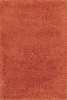 Rust Orange Comfort Shag Rug