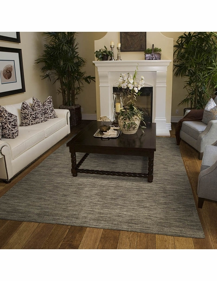 Rustic Brown Rug