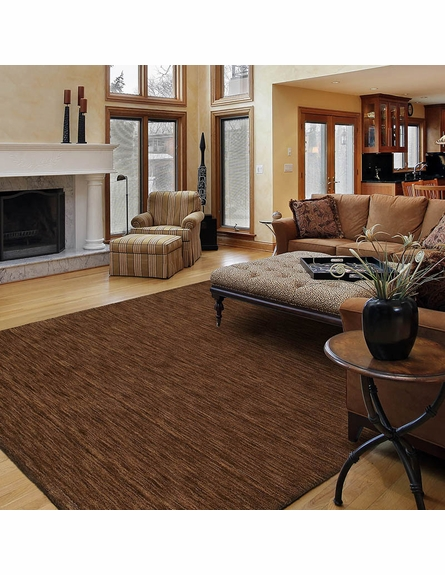 Rustic Copper Rug