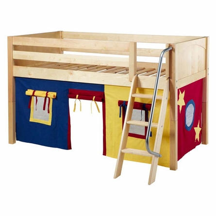 Easy Rider Low Loft Bed with Primary Tent