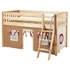 Easy Rider Low Loft Bed with Tan Tent