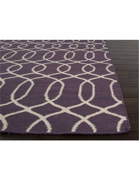 Sabrine Rug in Continental Plum