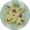 Safari Green Giraffe Drawer Knob