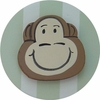 Safari Green Monkey Drawer Knob