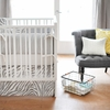 Safari in Gray Crib Bedding Set