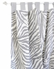 Safari in Gray Curtain Panels - Set of 2