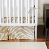 Safari in Sand Crib Skirt
