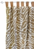 Safari in Sand Curtain Panels - Set of 2