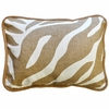 Safari in Sand Throw Pillow