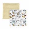 Safari Muslin Swaddle Blanket Set of 2