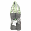 Sage Lattice Hooded Towel