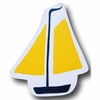 Sail Boat Yellow Drawer Pull
