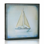Sailboat I Canvas Wall Art