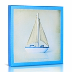 Sailboat II Canvas Wall Art