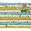Sailing Fleece Throw Blanket