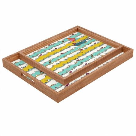 Sailing Rectangle Tray