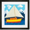 Sailing, Sailing Framed Art Print