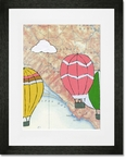 Salinas Framed Art Print