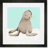 Sam the Sea Lion Framed Art Print