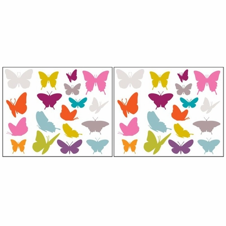 Samara Butterflies Peel & Stick Wall Decals
