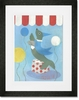 Sammy Seal Framed Art Print