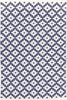 Samode Indoor/Outdoor Rug in Denim and Ivory