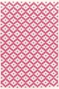 Samode Indoor/Outdoor Rug in Fuchsia and Ivory
