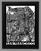 San Francisco Framed City Map